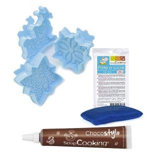 Cortadores de galletas Frozen + pasta...