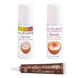 2 sprays alimentaires...