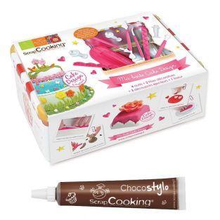 Coffret Ma boîte à Cake design + 1...
