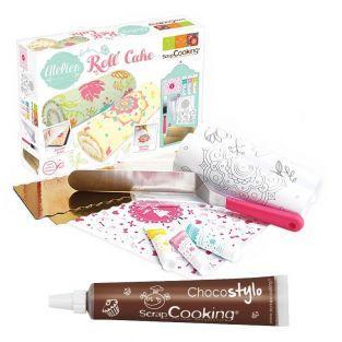 Coffret atelier Roll' Cake + 1 Stylo...