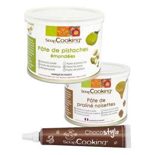 Pasta de pistachos 200 g + Pasta de...