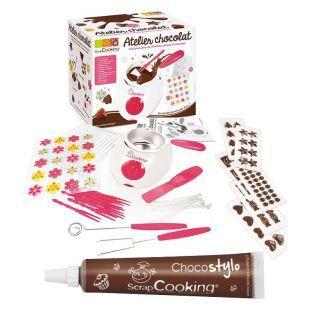Kit - für Schokoladenfondue +...