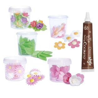 Leaves & Flowers Wafer kit...