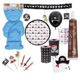 Piraten-Geburtstags-Box mit...