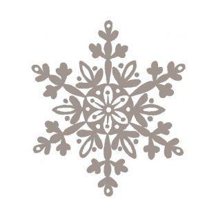 Almohadilla de madera - Copo de nieve