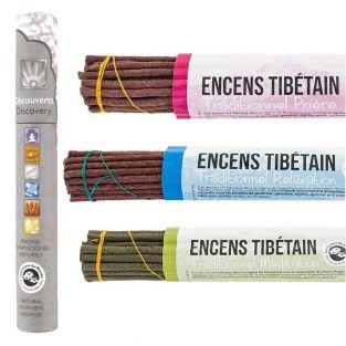 Encens tibétain 95 bâtonnets + encens...