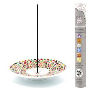 Incense holder Mosaic cup + natural...
