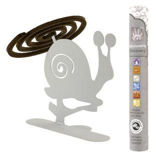 Spiral incense holder White Snail +...