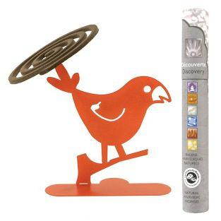 Spiral incense holder Parakeet +...