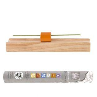 Hinoki Precious wood incense holder +...
