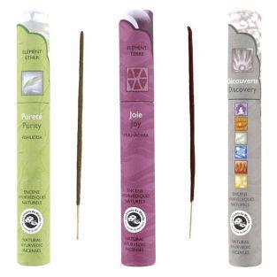Ayurvedic incense set -...