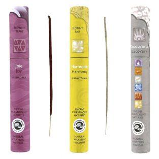 Ayurvedic incense set - Joy, Harmony,...