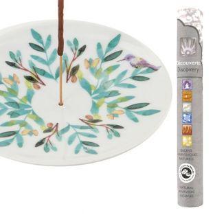 Porcelain incense holder...