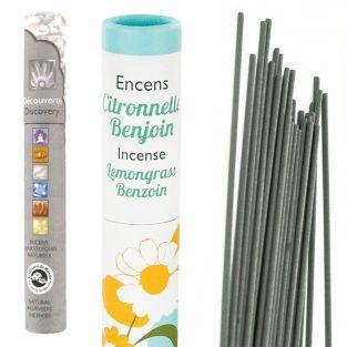 Natural incense Lemongrass & Benzoin...
