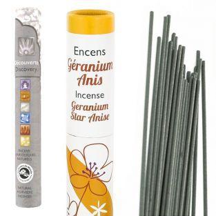 Encens Anis-Geranium 30 bâtonnets +...