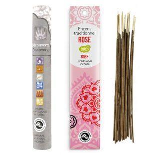 Encens indien à la Rose 20 bâtonnets...