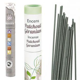 Geranium-Patchouli Incense + natural...