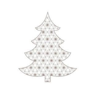 Tampon bois - Sapin de Noël