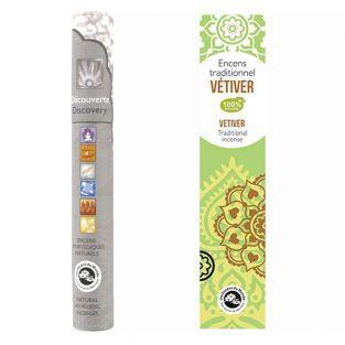 Vetiver indian incense +...