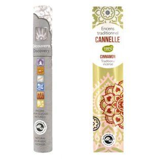 Cinnamon Indian incense + natural...