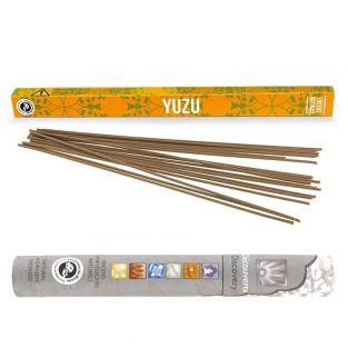 Encens japonais Yuzu 12 bâtonnets +...