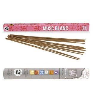 Japanese incense with White...