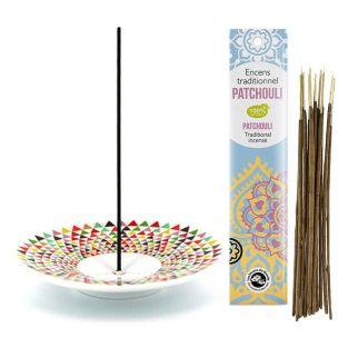Incense holder Mosaic cup + Patchouli...