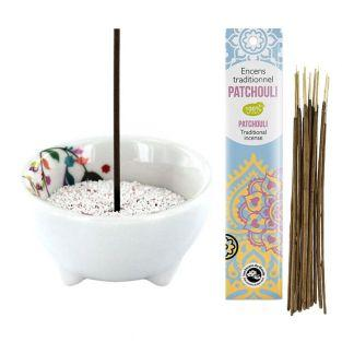Vegetal porcelain incense...