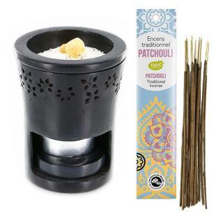 Candle holder & incense...