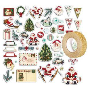 54 scrapbooking die-cuts...