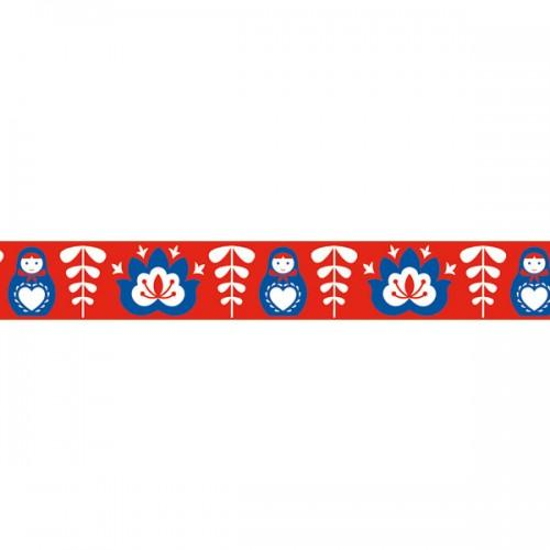 Masking Tape red Russian