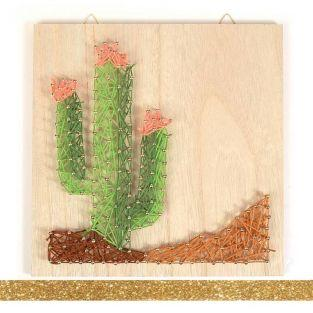 String Art wooden frame set 22 x 22...