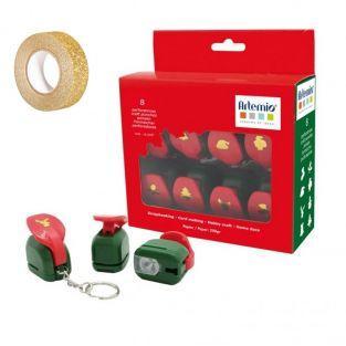 Set 8 Motivstanzer Weihnachten +...