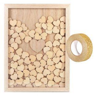 Customizable wooden frame 30 x 42 cm...
