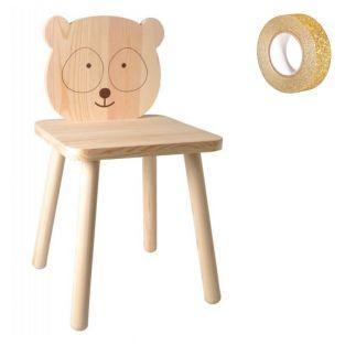 Chaise en bois enfant à peindre 29 x...