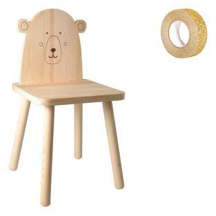 Wooden children's chair to paint 29 x...