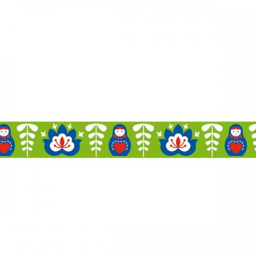 Masking Tape green Russian