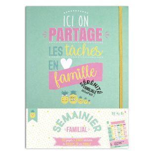 Wöchentliches A4 Family Creative Kit