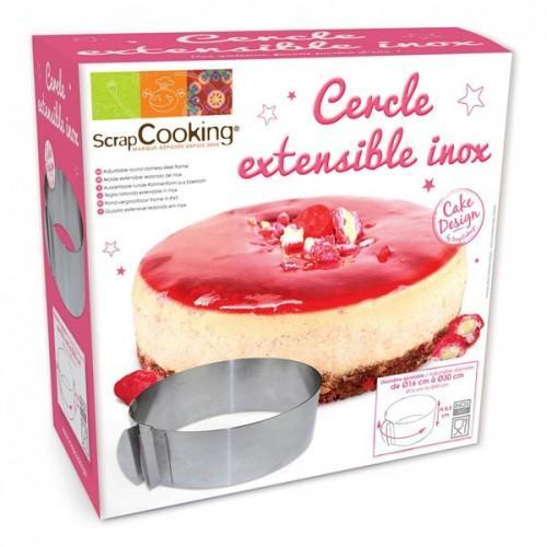 Adjustable cake ring - round