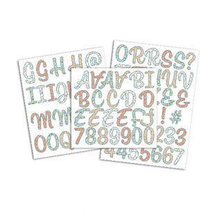 Figuras de patrones adhesivos y...