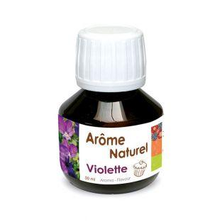 Natural food flavor 50 ml - Violet