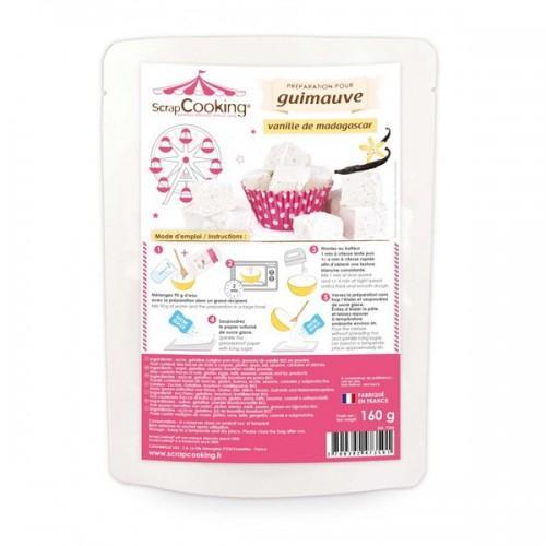 Préparation guimauve - arôme vanille