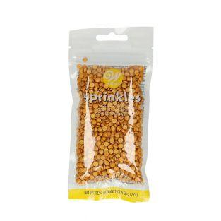 Zuckerdekor Konfetti 56 g - Golden