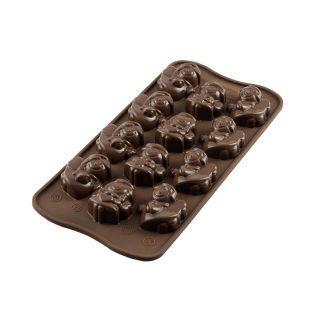 Molde de chocolate Silikomart -...