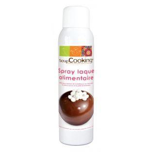 Vernis alimentaire en spray