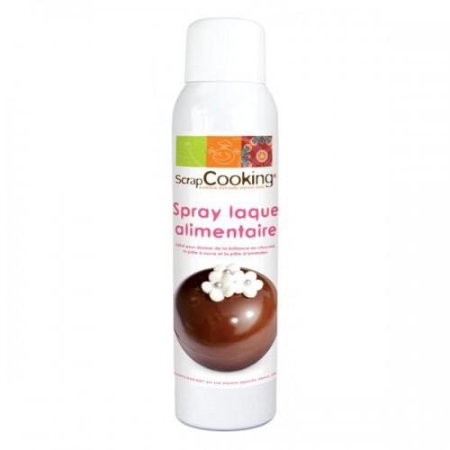 Vernis alimentaire en spray