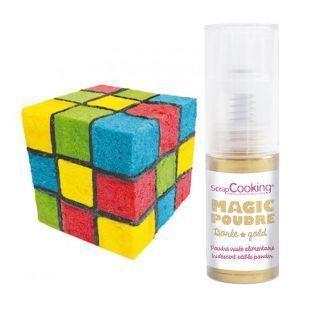 Kit gâteau Cube de couleurs + 1...
