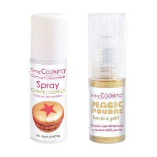 Food color spray 50 ml Copper +...