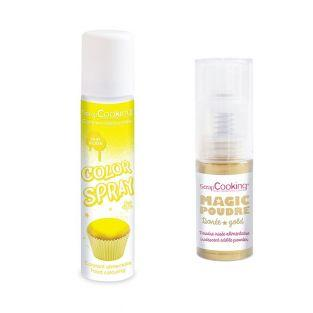 Food color spray 75 ml Yellow +...