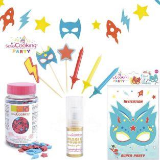 Superhero Birthday Kit + Golden...